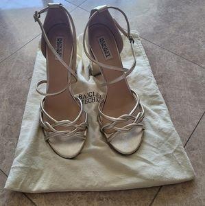 Badgley michka heeled sandals